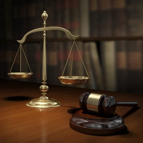 Image of legal scales