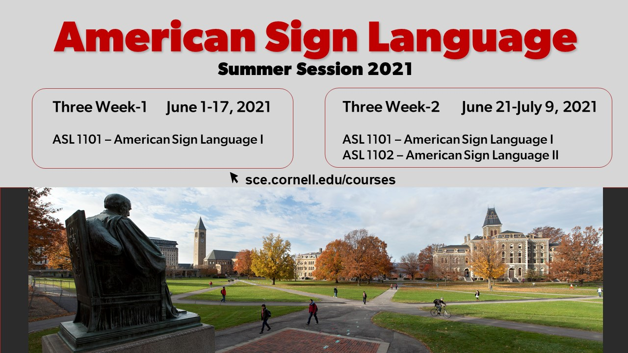 ASL Summer 2021 Poster