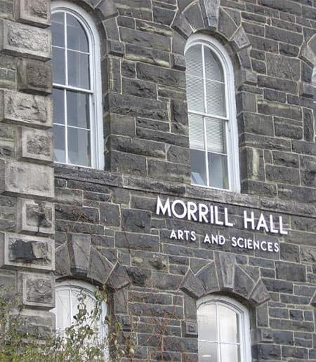 Close-up of Morrill Hall