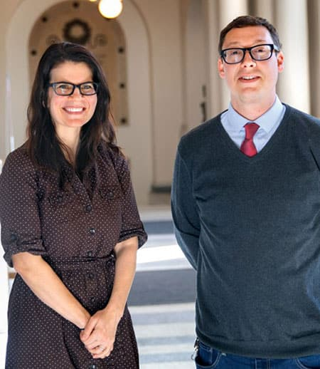 Melissa Ferguson and Christopher Wildeman