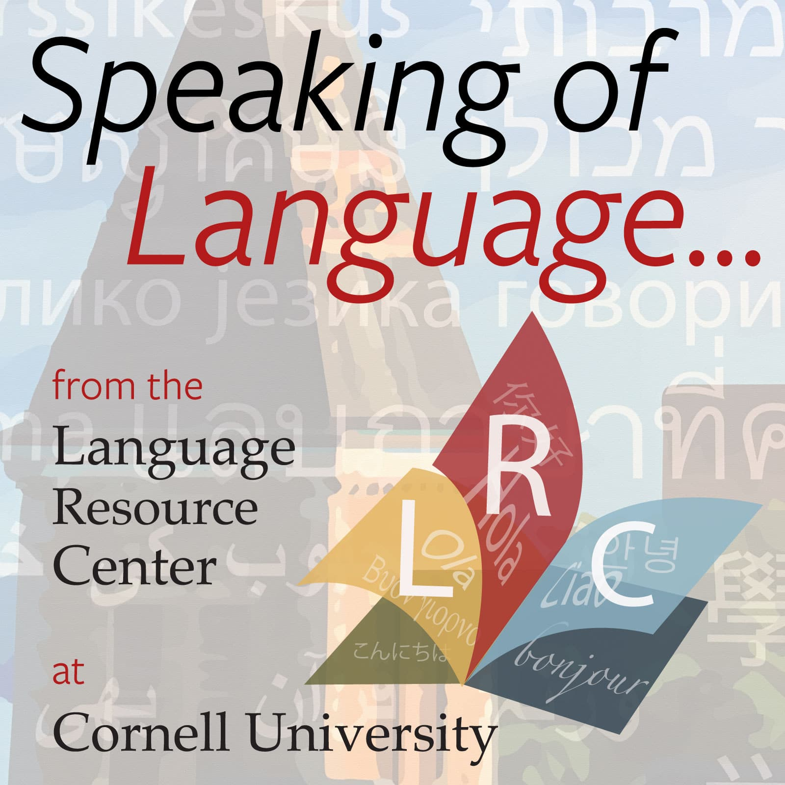 Speaking of Language logo
