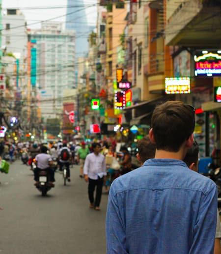 Street in Thailand